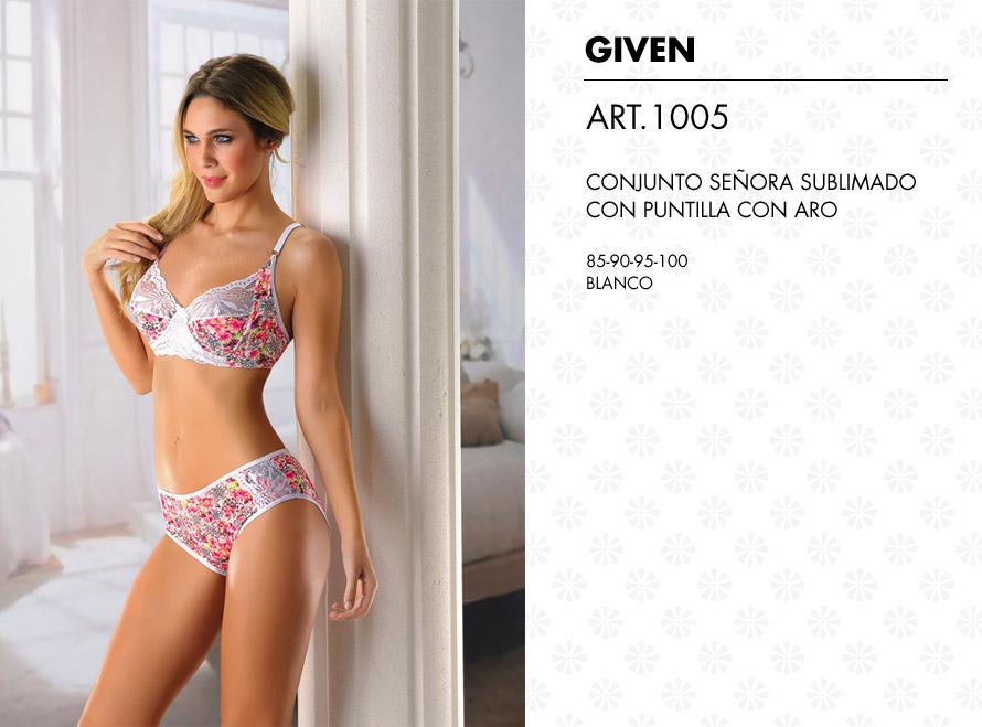 Conjuntos ropa interior para se ora mujer sublimado given for Ropa interior senora